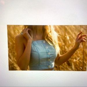 Blank NYC cayman clothing tank top/ cami